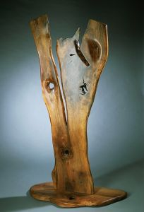 French Walnut Sculpture I