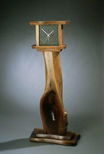 Spoon Walnut Clock