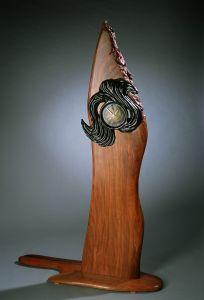 Swirl Clock I