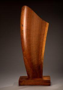 Walnut Sculpture-full view